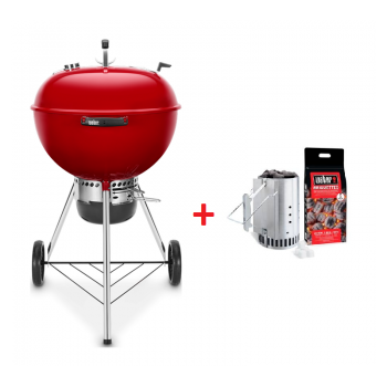 BARBECUE WEBER MASTER-TOUCH 57cm CRIMSON RED GBS