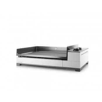 PREMIUM 60 GAS PLANCHA FORGE ADOUR CHASSIS WHITE ENAMELLED STEEL