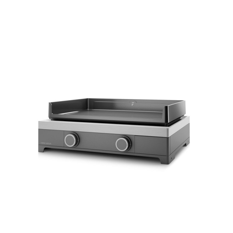 MODERN 60 GAS PLANCHA FORGE ADOUR CHASSIS IN ENAMELLED STEEL
