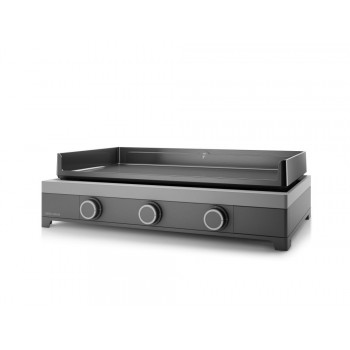 MODERN 75 GAS PLANCHA FORGE ADOUR CHASSIS IN ENAMELLED STEEL