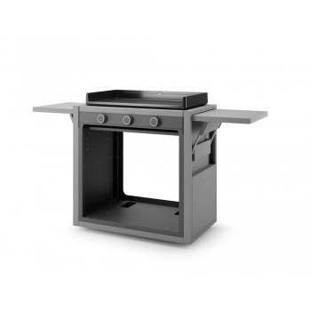 TROLLEY IN STEEL FOR PLANCHA MODERN 75 FORGE ADOUR