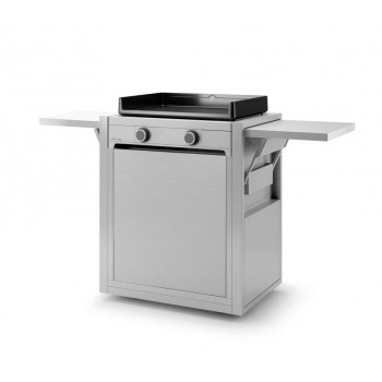 CLOSED TROLLEY INOX FOR PLANCHA MODERN 60 FORGE ADOUR