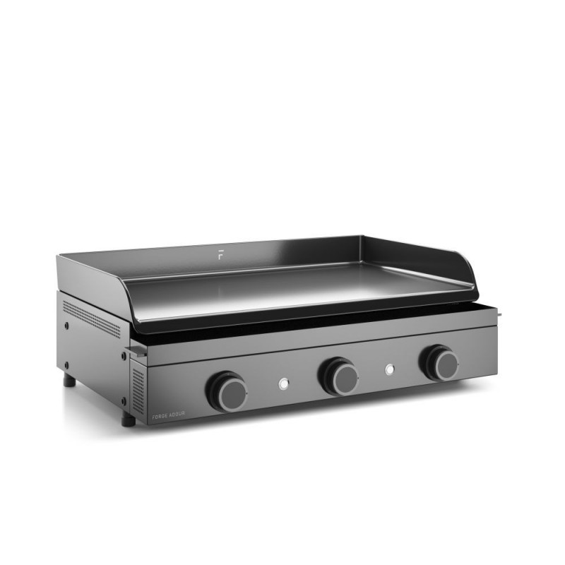 ORIGIN 75 GAS PLANCHA FORGE ADOUR CHASSIS IN ENAMELLED STEEL