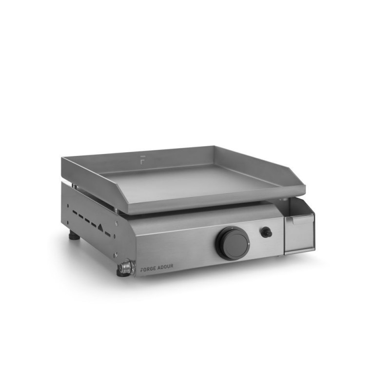 PLANCHA FORGE ADOUR BASE GAS 45 CHASIS Y PLACA INOX