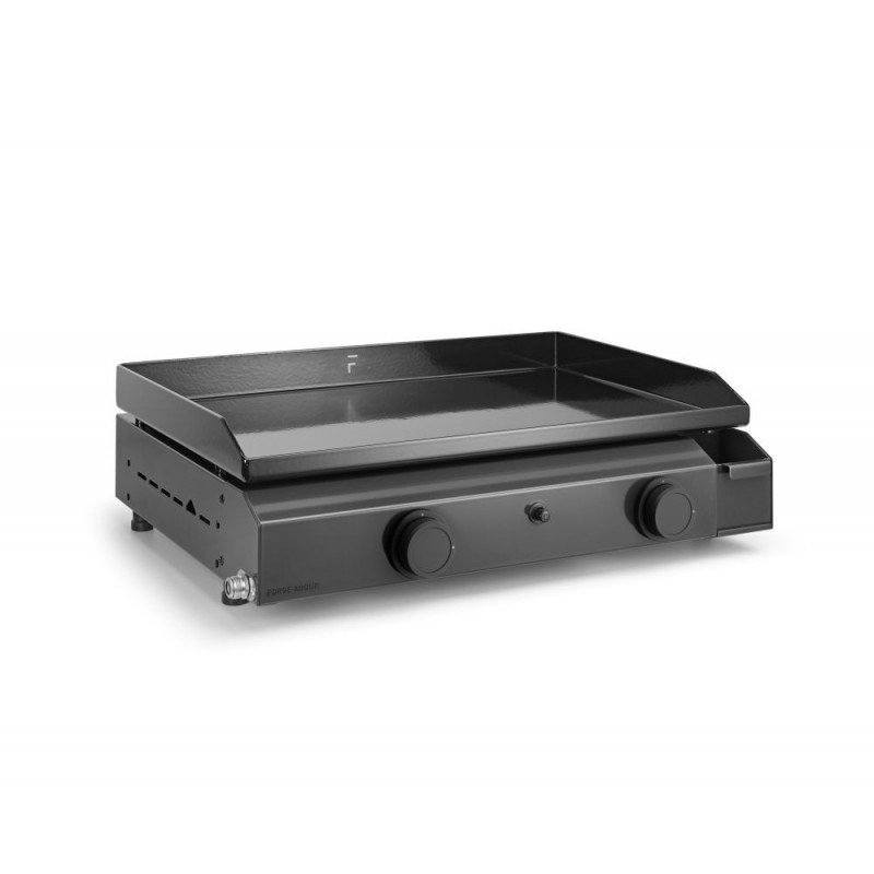 PLANCHA FORGE ADOUR BASE GAS 60 CHASSIS AND COOKING HOB IN ENAMELLED STEEL