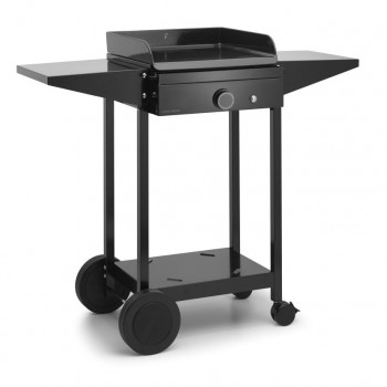 TROLLEY IN ENAMELLED STEEL FOR PLANCHA ORIGIN 45 FORGE ADOUR