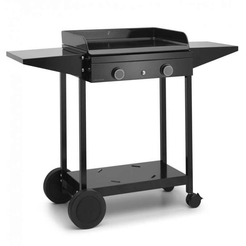 TROLLEY IN ENAMELLED STEEL FOR PLANCHA ORIGIN 60 FORGE ADOUR
