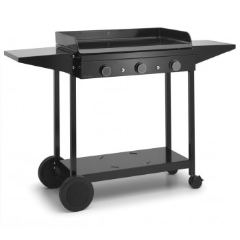 TROLLEY IN ENAMELLED STEEL FOR PLANCHA ORIGIN 75 FORGE ADOUR