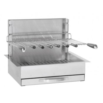 Built-in grill in stainless steel 961.56 Forge Adour