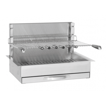 Built-in grill in stainless steel 961.66 Forge Adour