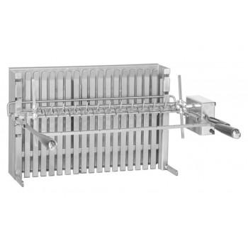 Kit con asador eléctrico 8 kg para grill encastrable 961.66 Forge Adour