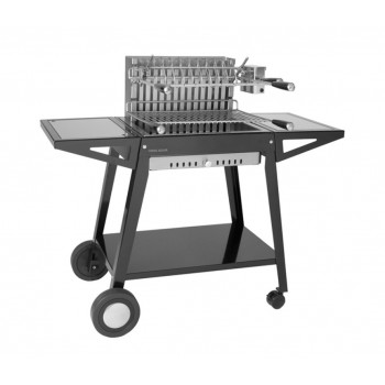 GRILL TROLLEY CHGA 56 IN STEEL FOR BUILT-IN STAINLESS STEEL GRILL 918.56 AND 961.56 FORGE ADOUR