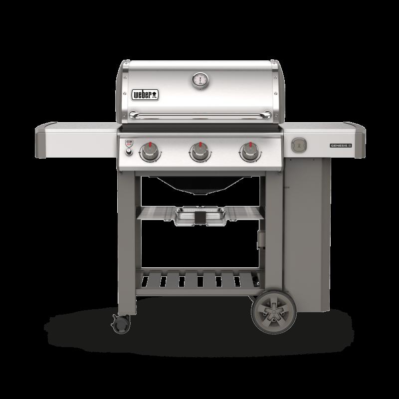 Barbecue gaz Weber Genesis 2 E610 noir + plancha | Castorama
