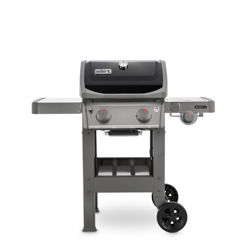 WEBER SPIRIT II E-220 GBS BARBECUE BLACK