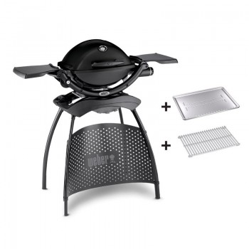 BARBECUE WEBER Q1200 NOIR STAND