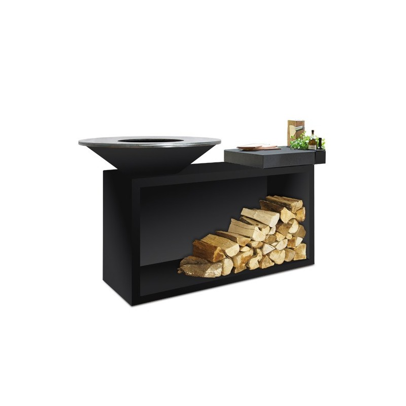 BARBECUE OFYR ISLAND CERAMIC BLACK OIB-85-CD