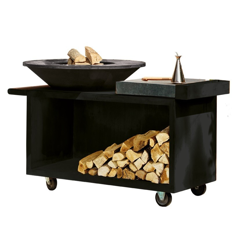 BARBECUE OFYR ISLAND CERAMIC BLACK PRO OIB-100-PRO-CD