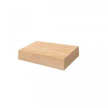 BLOCK DE BOIS DE TECK OFYR 50x50x10