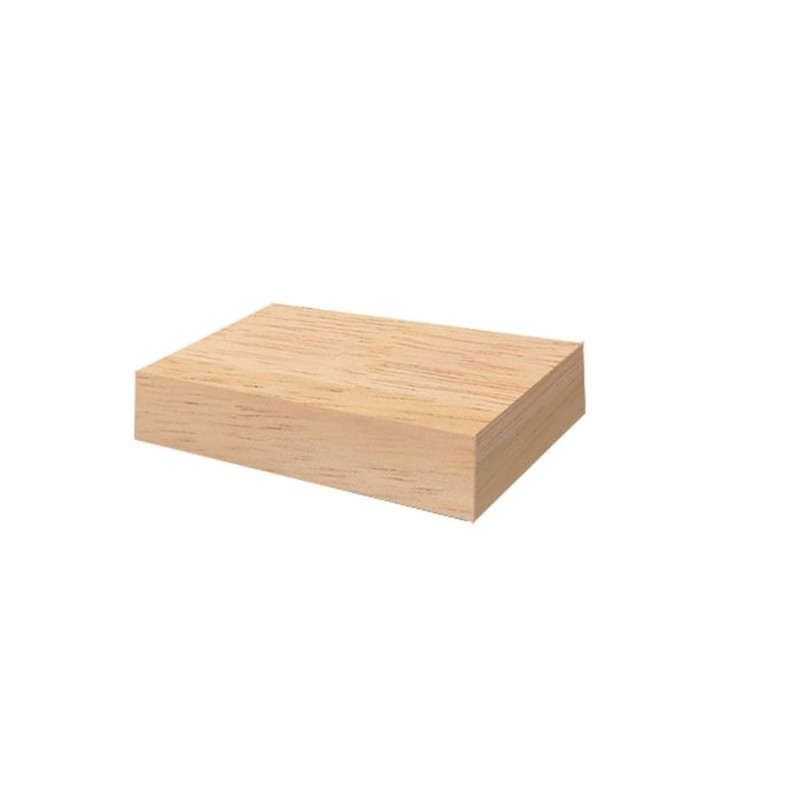 TEAK WOOD BLOCK OFYR 50x50x10