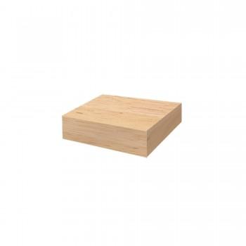 BLOCK DE BOIS DE TECK OFYR 45x45x10