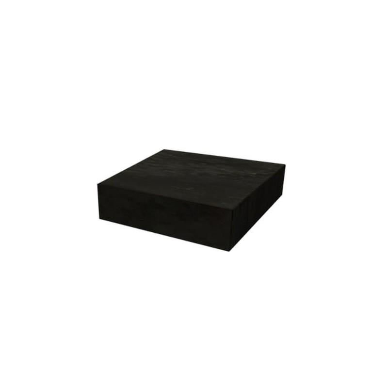 DARK GREY CERAMIC BLOCK OFYR 45x45x10