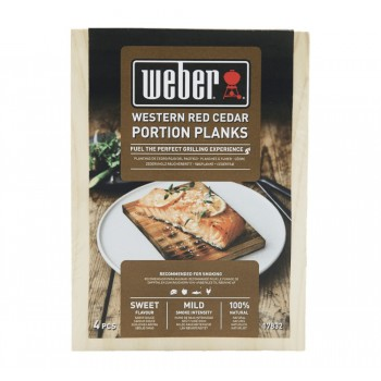 WESTERN RED CEDAR SMOKING WOOD PLANKS WEBER
