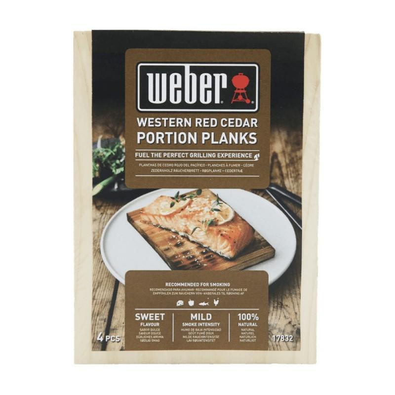 WESTERN RED CEDAR SMOKING WOOD PLANKS WEBER