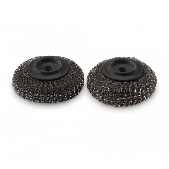 2 SPARE HEADS FOR PLANCHA SCOURER WEBER