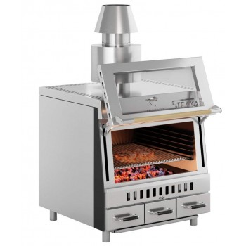 CHARCOAL BARBECUE OVEN STEAKER 70 PERTINGER
