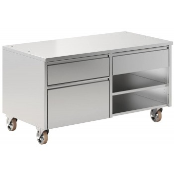 CABINET WITH 3 DRAWERS AND 2 SHELVES FOR MASTERGRILL 130 PERTINGER