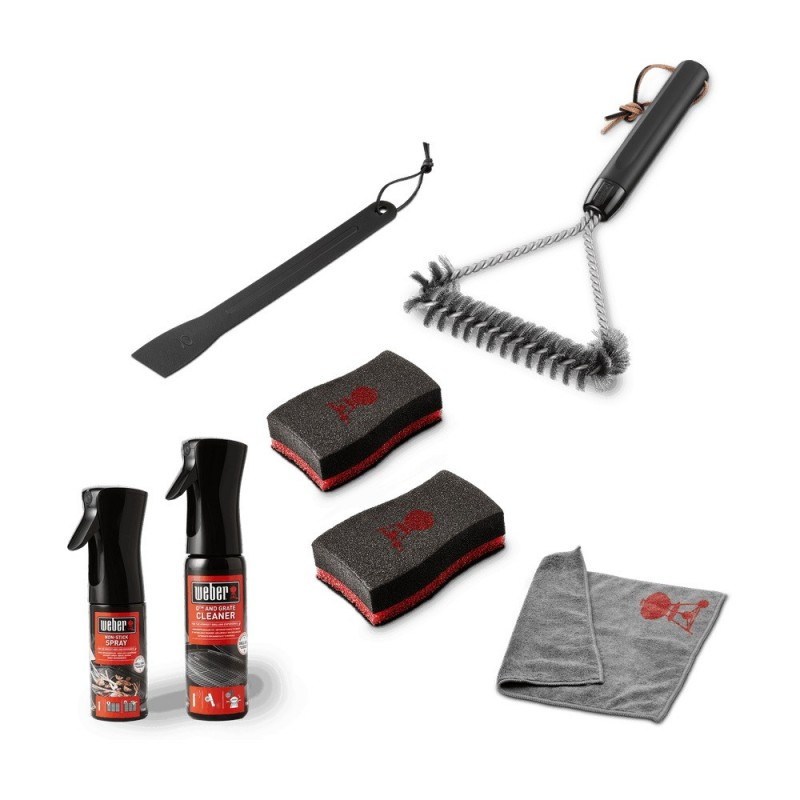 Q AND PLUS BARBECUE CLEANING KIT WEBER