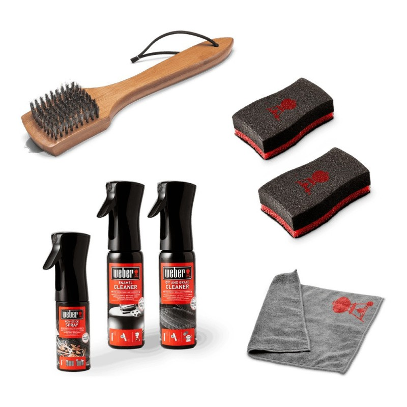 CLEANING KIT FOR CHARCOAL BARBECUES WEBER