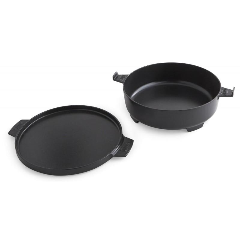 WEBER GOURMET BBQ SYSTEM - DUTCH OVEN DUO