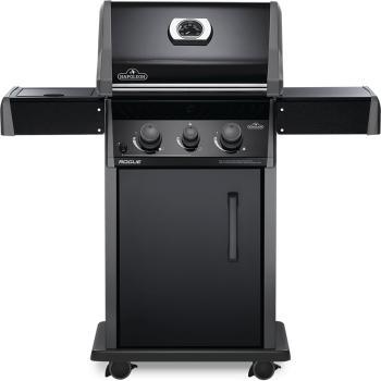 BARBECUE NAPOLEON ROGUE 365 WITH SIDE BURNER BLACK