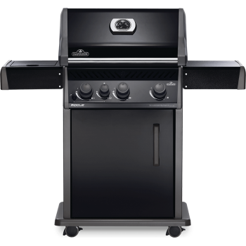 BARBECUE NAPOLEON ROGUE 425 WITH SIDE BURNER BLACK