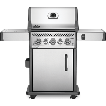 BARBECUE NAPOLEON ROGUE SE 425 WITH INFRARED SIDE AND REAR BURNERS INOX