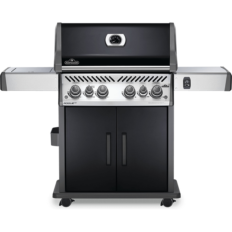 BARBECUE NAPOLEON ROGUE SE 525 WITH INFRARED SIDE AND REAR BURNERS BLACK
