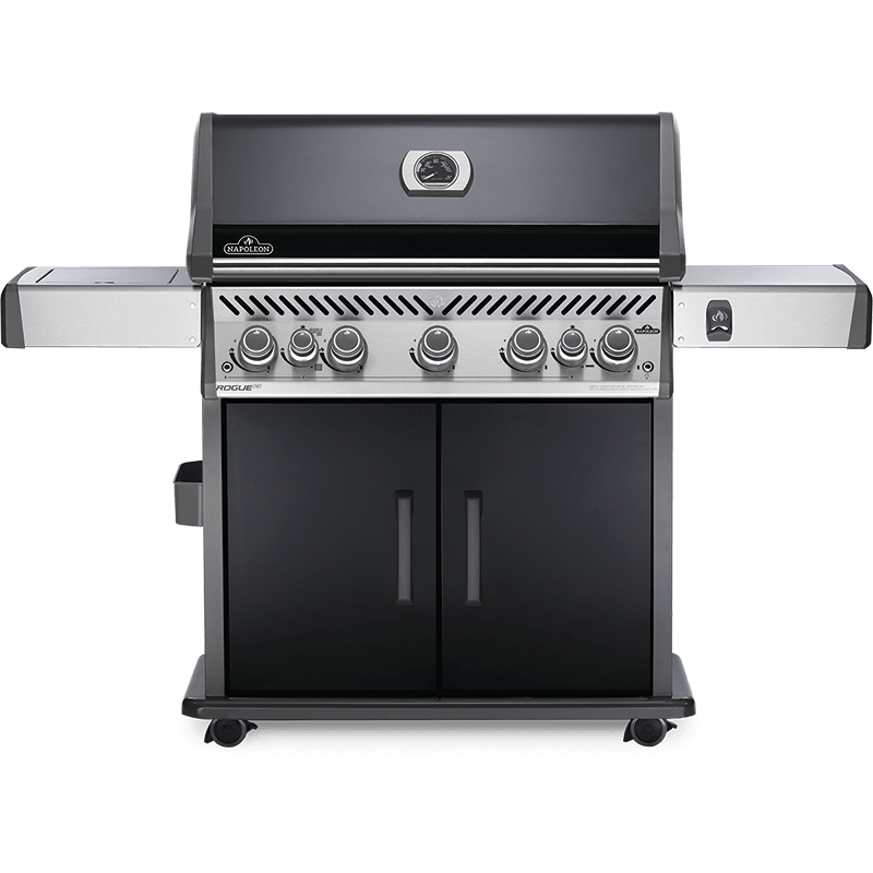 BARBECUE NAPOLEON ROGUE SE 625 WITH INFRARED SIDE AND REAR BURNERS BLACK