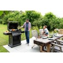 BARBECUE NAPOLEON ROGUE 425 WITH SIDE AND REAR BURNER + ROTISSERIE SET BLACK