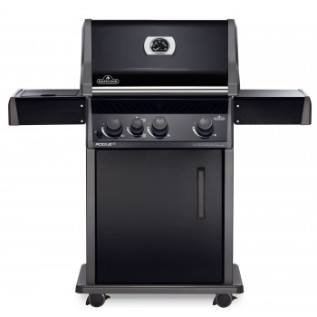 BARBECUE NAPOLEON ROGUE XT 425 WITH INFRARED SIDE BURNER BLACK