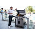 BARBECUE NAPOLEON ROGUE SE 525 WITH INFRARED SIDE AND REAR BURNERS INOX