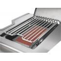 BARBECUE NAPOLEON PRESTIGE PRO 500 WITH INFRARED SIDE AND REAR BURNERS STAINLESS STEEL