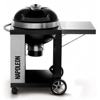 PRO CHARCOAL BARBECUE 57cm WITH CART NAPOLEON