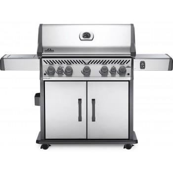 BARBECUE NAPOLEON ROGUE SE 625 WITH INFRARED SIDE AND REAR BURNERS STAINLESS STEEL
