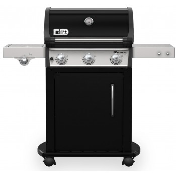 WEBER SPIRIT E-325 GBS BLACK BARBECUE WITH SIDE BURNER