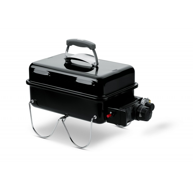 WEBER GO-ANYWHERE GAS BARBECUE (BLACK)