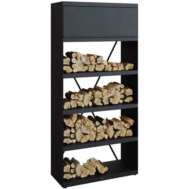WOOD STORAGE OFYR BLACK WSB-100