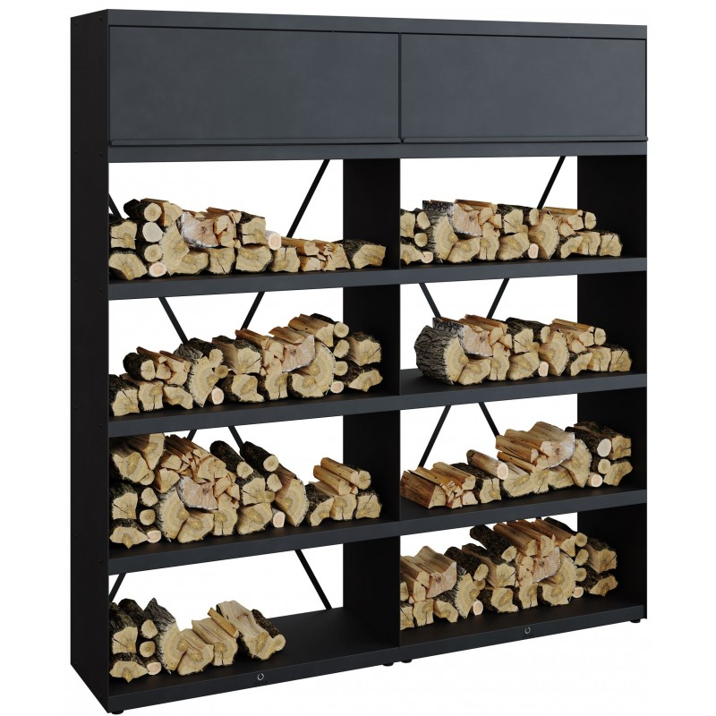 WOOD STORAGE OFYR BLACK WSB-200