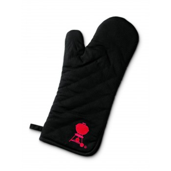WEBER BLACK DELUXE BARBECUE MITT